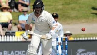 New Zealand require 47 runs to clinch Test series against Sri Lanka