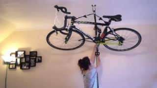 Want to park your cycles safely, hoist it up. Here's how! (Watch Video)