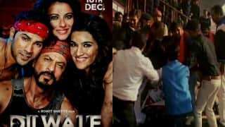 BJP youth wing protests on release of Dilwale in multiplexes