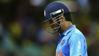 Dhoni dismissed for low score in domestic comeback