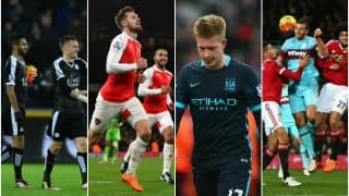EPL 2015-16: Manchester Clubs disappoint, Arsenal win & Leicester City consolidate top spot