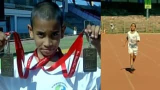 9-year old boy becomes India's youngest marathon runner at 'Run Bhopal Run' event