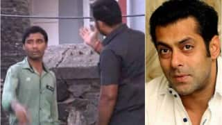 Salman Khan's bodyguard slaps fan outside Galaxy Apartments
