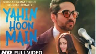 Yahin Hoon Main: Ayushmann Khurrana & Yami Gautam reunite for this beautiful song