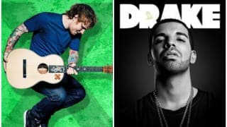 Drake, Ed Sheeran top list of most streamed artists