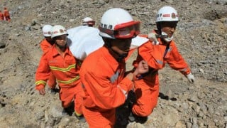 1 killed, 17 workers trapped in China mine collapse