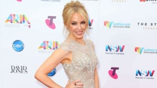 Kylie Minogue pays emotional tribute to ex