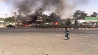 Afghanistan: Taliban suicide bombing, gunfire rattle central Kabul
