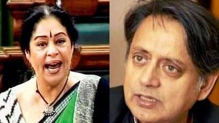 Kirron Kher, Shashi Tharoor spar about intolerance in Lok Sabha