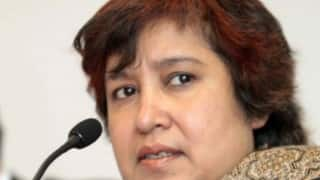 Taslima Nasreen takes on Christianity, tweets Jesus Christ was NOT God's son!