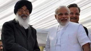 मोदी ने पंजाब के मुख्यमंत्री को जन्मदिन की बधाई दी