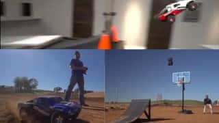 OMG! Remote cars fly in air, run on water (Watch Video)