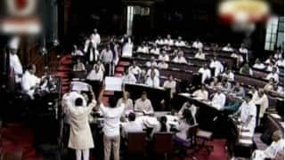 Trouble for Government in Rajya Sabha: TMC, SP, BJD seek suspension of business to discuss stoppage of benefits to people without Aadhaar