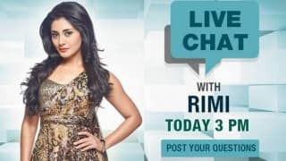Bigg Boss 9: Rimi Sen live chat at 3 pm on Colors website; post your questions