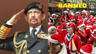 Christmas Day celebration and wearing Santa Claus caps banned in Brunei
