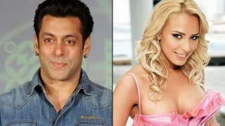Salman Khan And His rumoured Girlfriend Lulia Vantur Mobbed By Fans at Jaipur Airport - Watch Viral Video