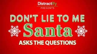 Christmas 2015 Lie Detertor test: Santa Claus asks kids vital questions
