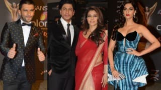 Sansui Colors Stardust Awards 2015 Red Carpet pics: Sonam Kapoor, SRK-Kajol, Ranveer Singh are Best Dressed celebs!