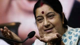 Unbecoming of a Politician, Says Sushma Swaraj as She Slams Rahul Gandhi For His 'Why no Women in Shorts in RSS' remark