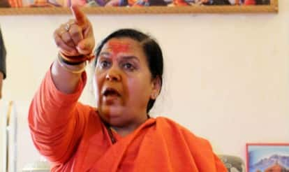 Uma Bharti criticises Sonia Gandhi, Rahul Gandhi for stalling Parliament over Herald case