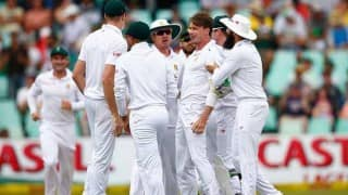 Dale Steyn strikes early blow for South Africa