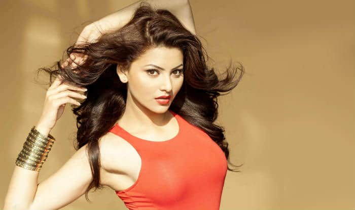 <b>Indian Bollywood actress Urvashi Rautela</b> poses as she attends The ...