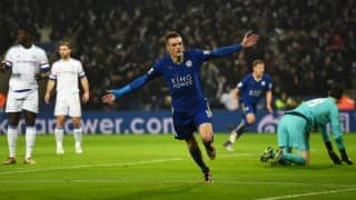 Leicester City beat Chelsea 2-1 to go top of the English Premier League (EPL) 2015-16 table; champions slump to 16th