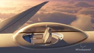 Amazing new patent gives you 360 degree view from an airplane