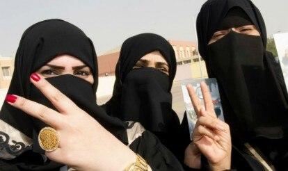 First Saudi Arabian public election campaign open to women