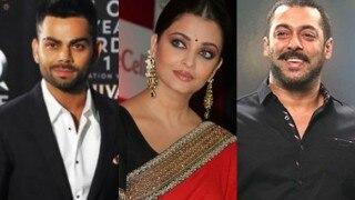 Virat Kohli strikes pose with Salman Khan & Aishwarya Rai Bachchan! See Pictures