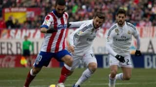 Atletico go joint top in Spain as Real Madrid suffer another defeat