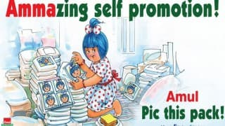 Chennai Floods: Amul ad takes the best dig so far on Jayalalitha for promoting sycophancy in 'Amma'zing manner!