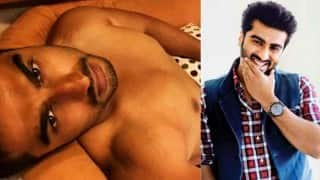 Arjun Kapoor goes shirtless to show tanned body - See hot picture