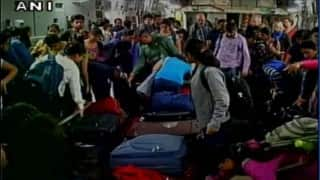 Over 1000 stranded passengers rescued from Chennai airport