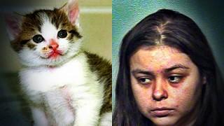 23 साल की लड़की ने किया बिल्ली के साथ सेक्स