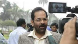 Mukhtar Abbas Naqvi: Congress private interests hampering nation's development