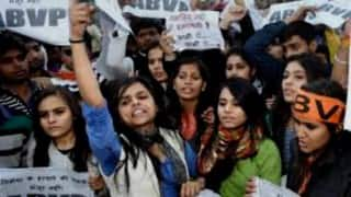 Nirbhaya gangrape: Students protest release of juvenile convict