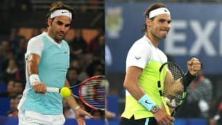 (Video) Rafael Nadal beats Roger Federer in Coca-Cola IPTL match in Delhi! Watch highlights