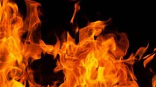 One killed, 50 shanties gutted in Lucknow blaze