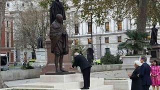 Indo-UK ties soar in 2015 with Mahatma Gandhi statue, Narendra Modi visit