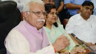 Haryana government spends Rs 17 crore on publicity, Congress hits out