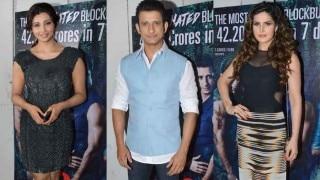 हॉट ज़रीन खान, डेज़ी शाह के साथ शरमन जोशी ने मनाई 'हेट स्टोरी 3' की सक्सेस पार्टी