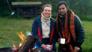 What a goal! Maharashtra yoga teacher Rahul Alinje to marry Danish woman football star