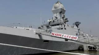 Indian Navy displays its might as part of Navy Day celebrations