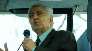 Jammu and Kashmir Chief Minister Mufti Mohammad Sayeed; flown to Delhi