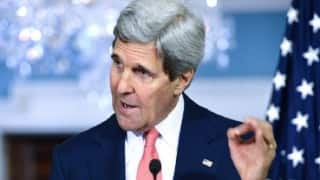 John Kerry visits Baghdad to support Iraqi leaders