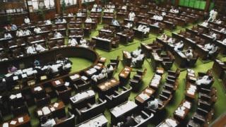 Lok Sabha Speaker Sumitra Mahajan inaugurates 52 flats for MPs