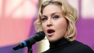 Madonna used fake police car to jump traffic?