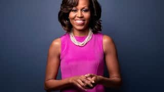 Michelle Obama features in rap video to inspire you to go to college