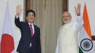 Japan PM Shinzo Abe issues joint statement with Narendra Modi, assures 35 billion dollar investment in India